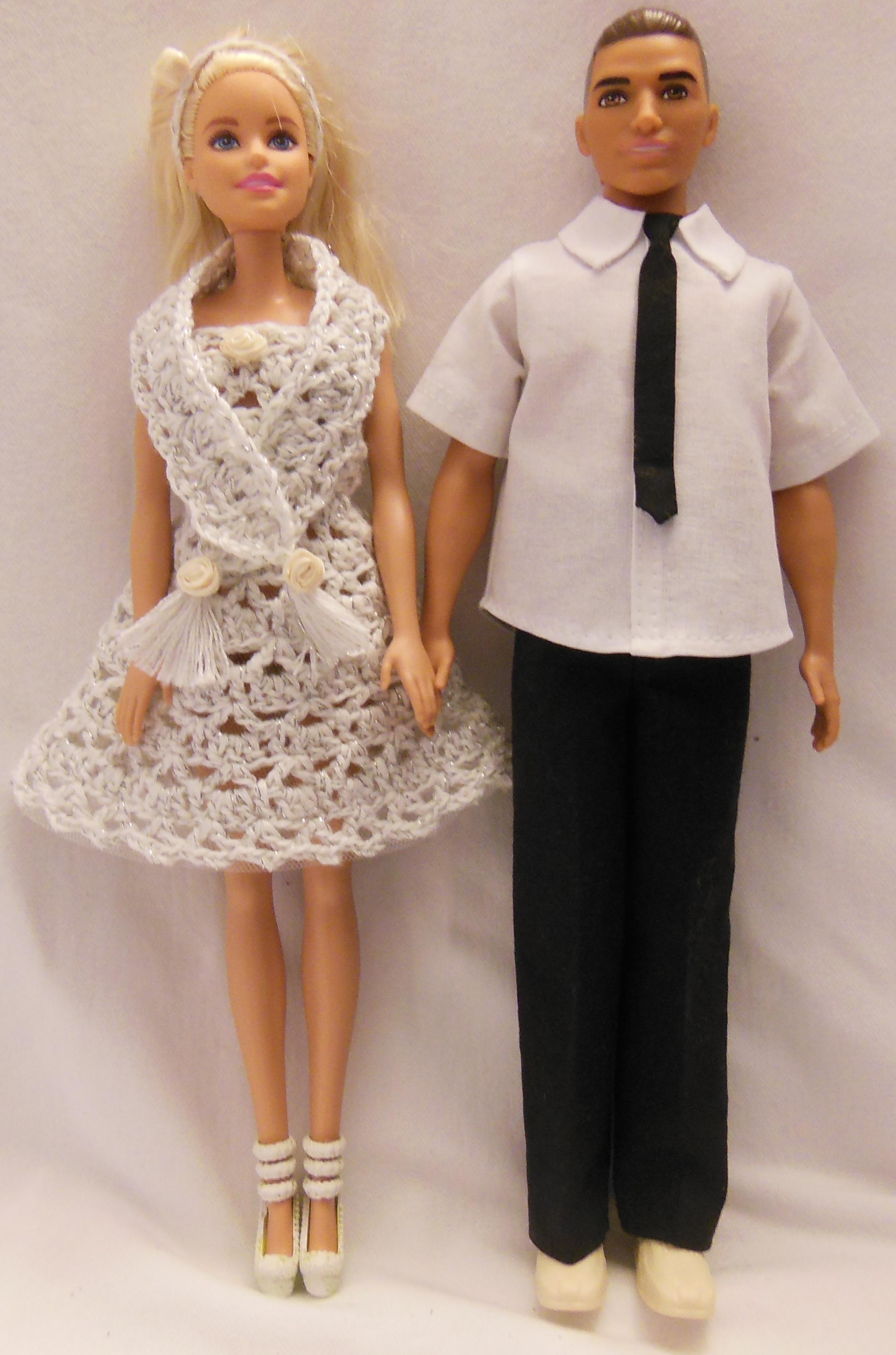 barbie uden farve